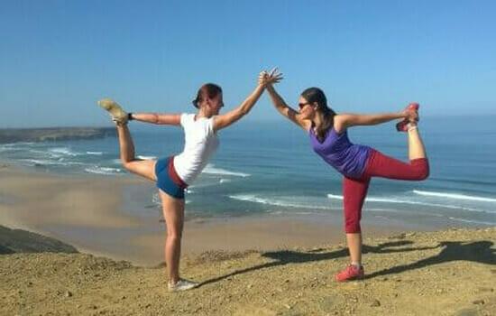 Yoga Reisen der Elemente