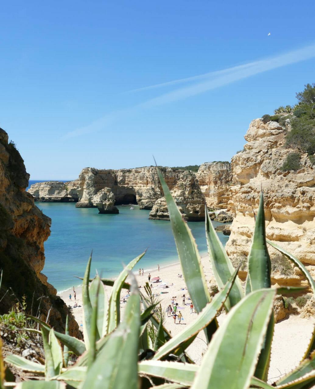 Praia da Marinha: einer der schönste Algarve Strände der Südküste