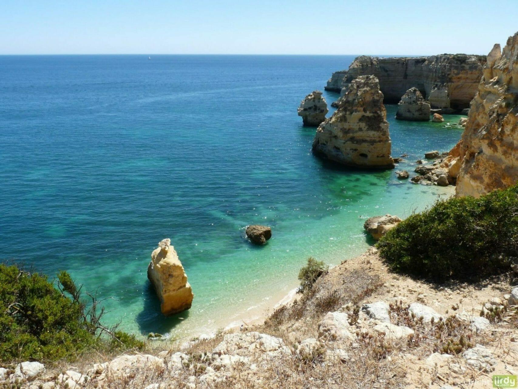 Yoga und Reiten Urlaub am Meer - Ausblick Traumküste Felsenalgarve
