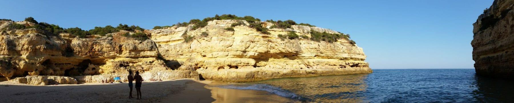 Yoga Retreat - Versteckte Sandbucht Felsenalgarve