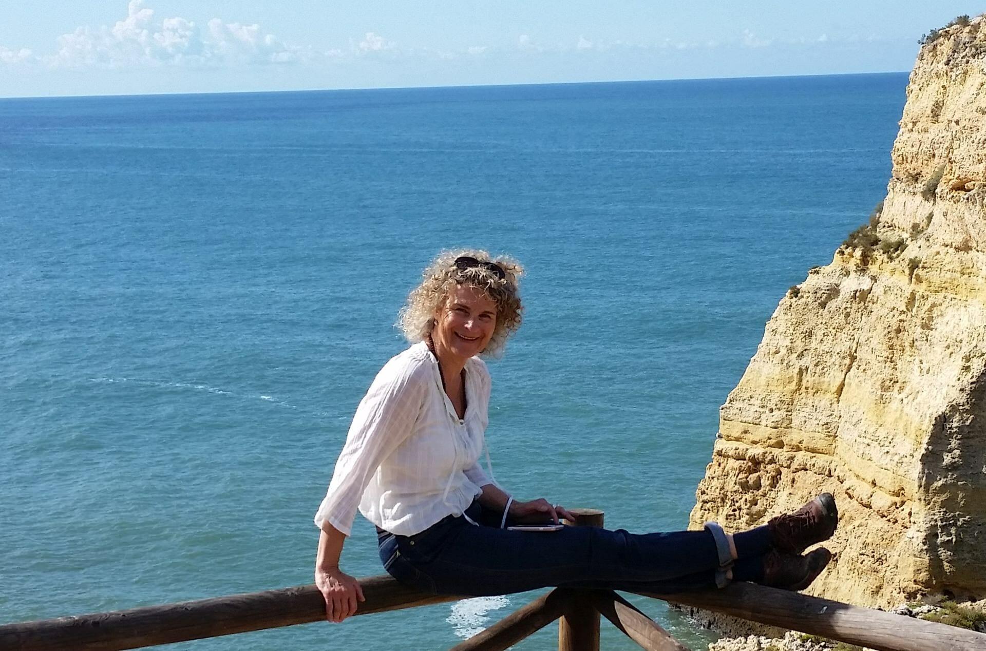 Yoga und Reisen - Diana Grohs an der Algarve