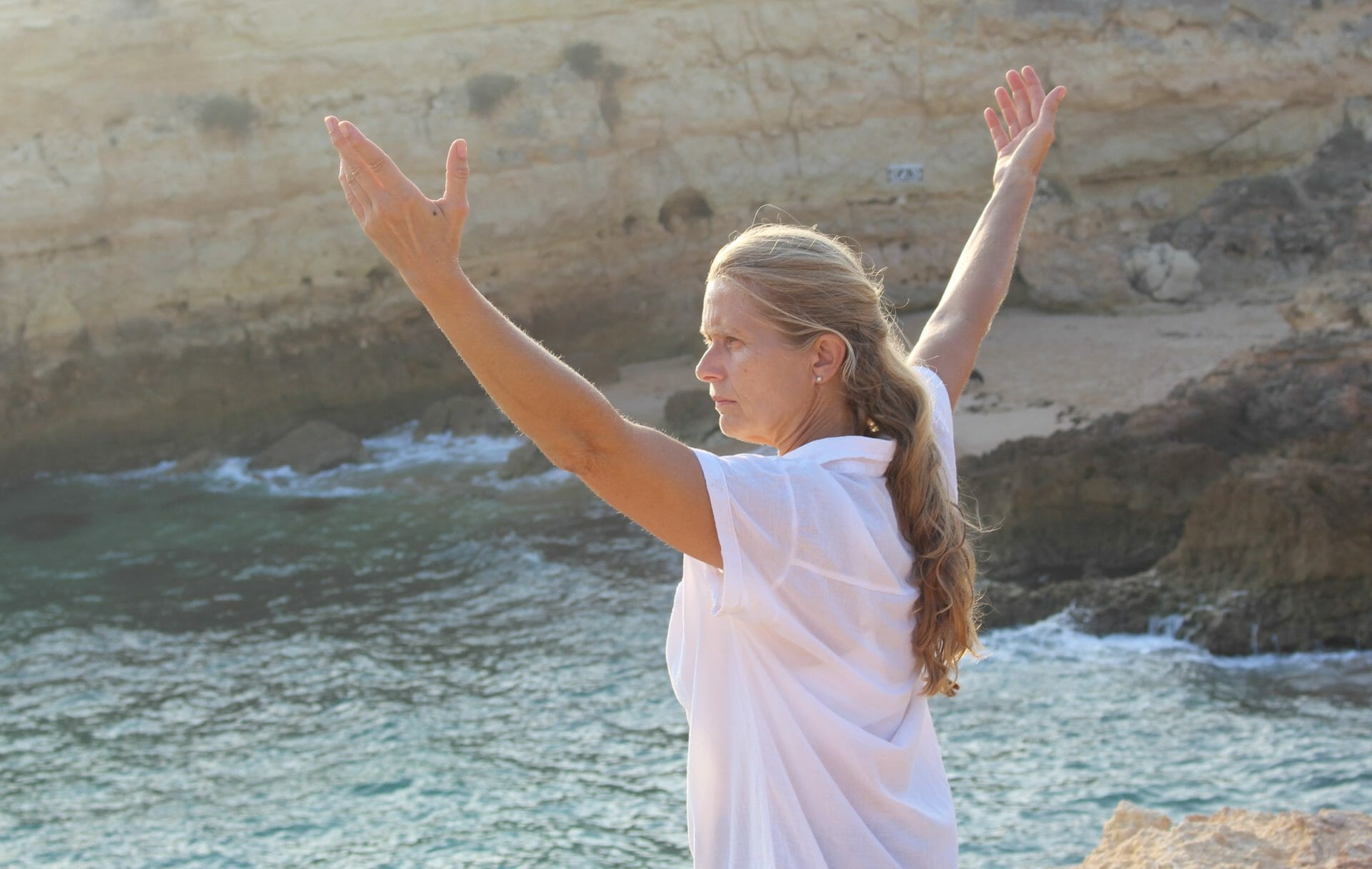 Qi Gong Urlaub mit Gabriele an der Algarve
