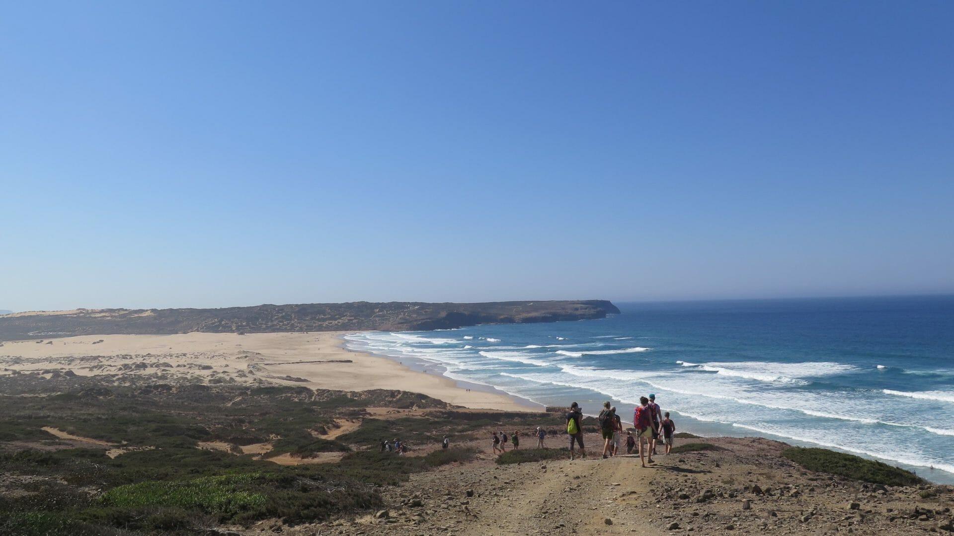 Yoga und Wandern Küste Carrapateira