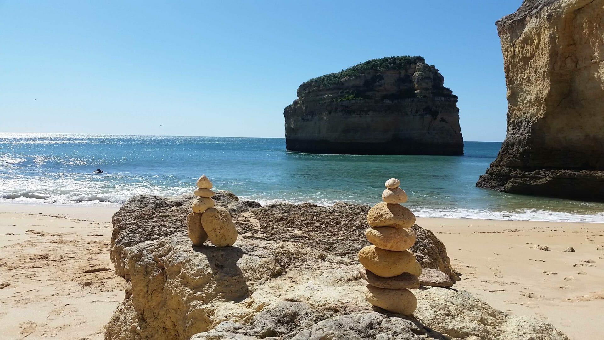 Küste Felsenalgarve bei Carvoeiro