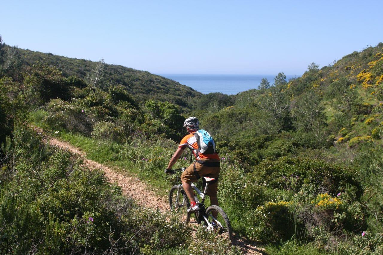 Yoga und Biken entlang der Algarve Küste