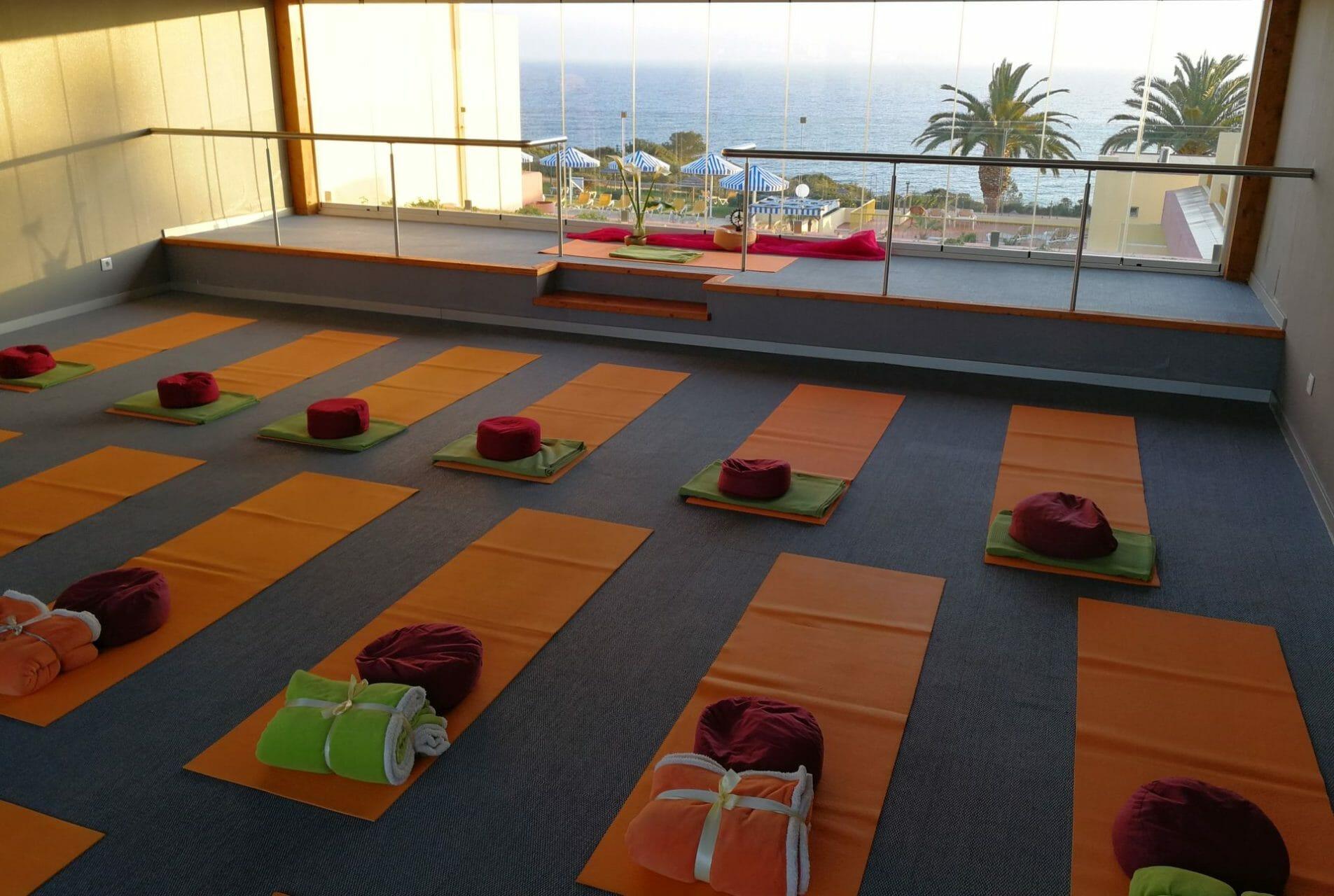 Indoor Yoga Lounge Baia Cristal Algarve
