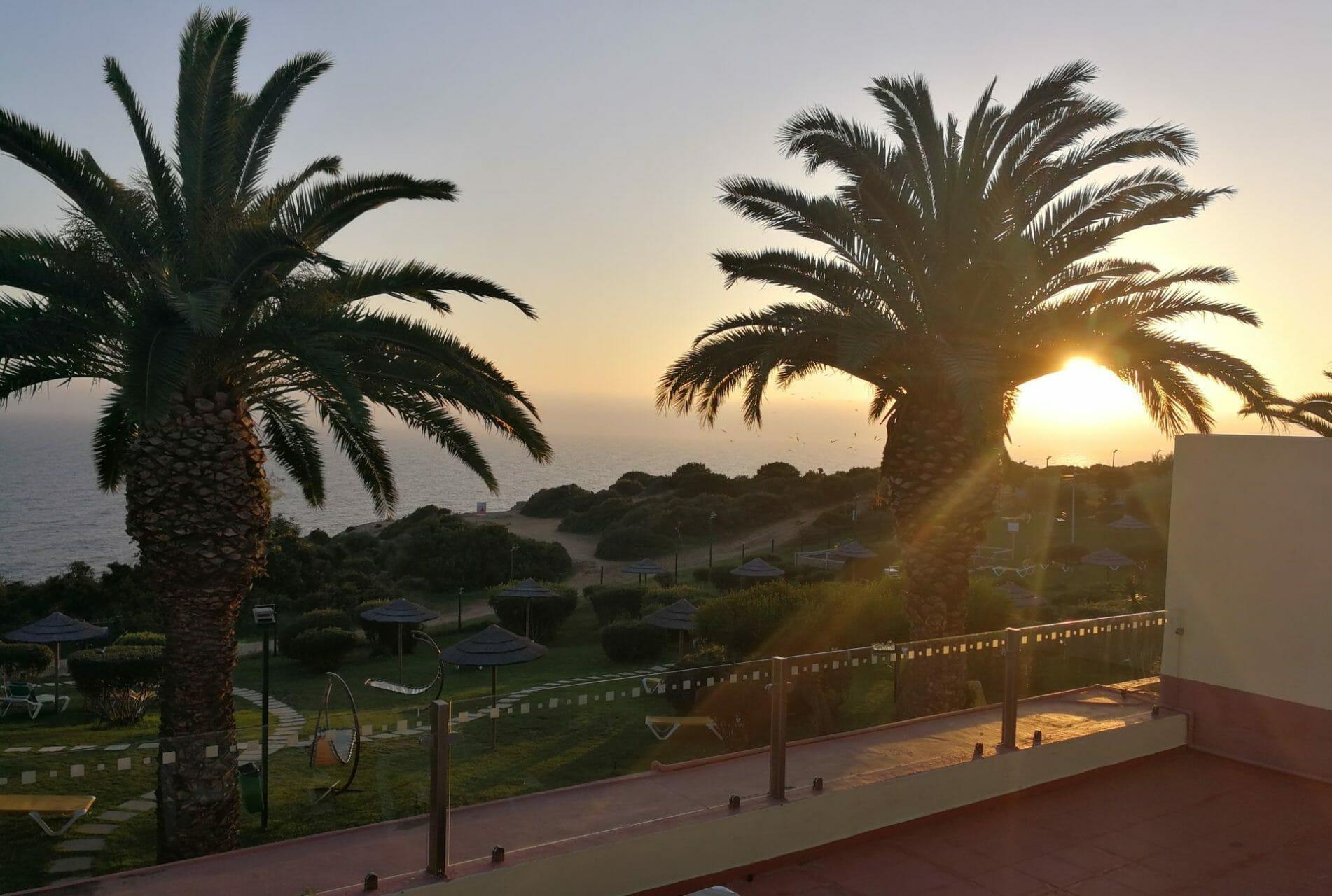 Yoga Terrace Baia Cristal Retreat Venue Algarve